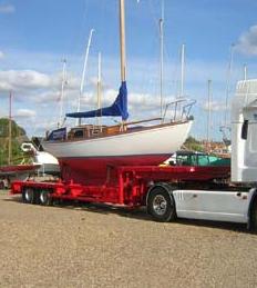 Boat Transport Sailboat